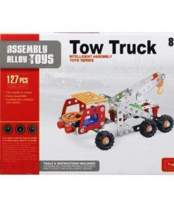 Jogo de Construção Camião com grua 117608 (127 Pcs)