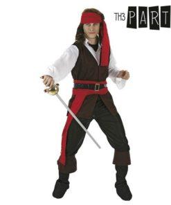 Fantasia para Adultos Pirata caribenho (4 Pcs)