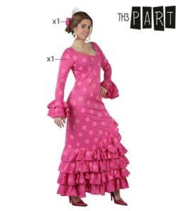Fantasia para Adultos Sevilhana Cor de rosa