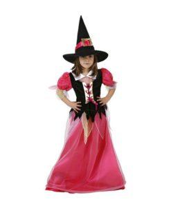 Fantasia para Crianças Bruxa Cor de rosa (2 Pcs)