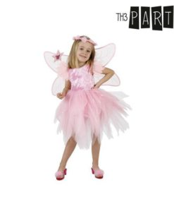 Fantasia para Crianças Fada Cor de rosa