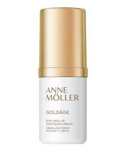 Creme Antienvelhecimento para o Contorno de Olhos e Lábios Goldâge Anne Möller (15 ml)