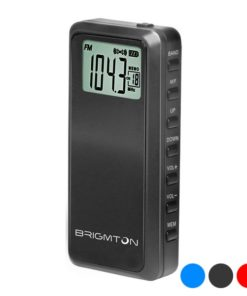 Rádio Transistor BRIGMTON BT-123 AM/FM 3.5 mm
