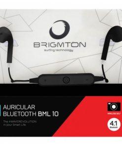 Auriculares Bluetooth com microfone BRIGMTON BML-10