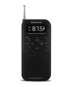 Rádio Transistor BRIGMTON BT-127N 3W 800 mAh Preto