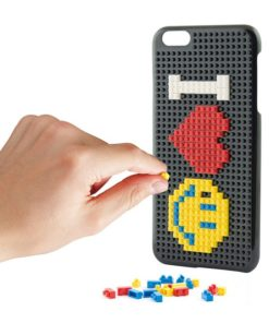 Capa para Telemóvel Iphone 7 Play Block Preto