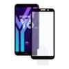 Protetor de vidro temperado para o telemóvel Huawei Y6 2018 2.5D Preto