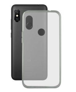 Capa para Telemóvel Xiaomi Redmi Note 6 Pro Flex TPU Transparente