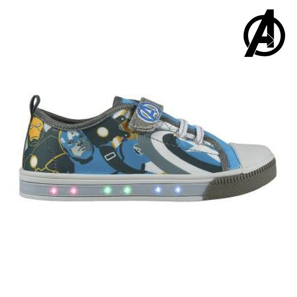 Ténis Casual com LED The Avengers 72933 Azul