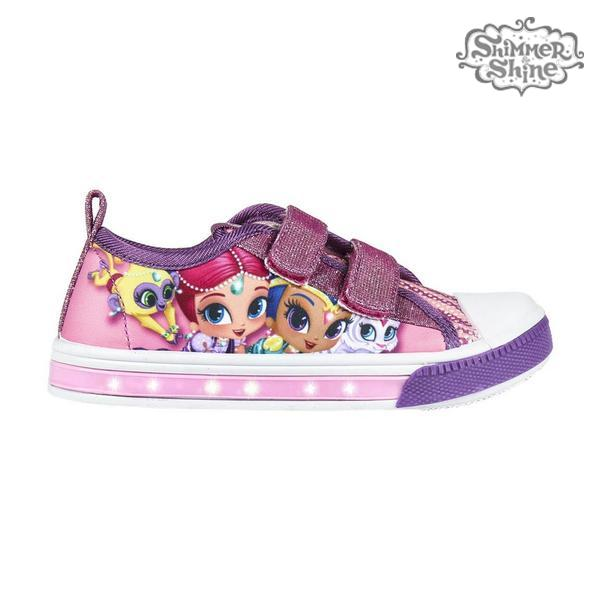Ténis Casual com LED Shimmer and Shine 73624 Roxo