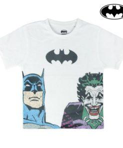 Camisola de Manga Curta Infantil Batman 73707