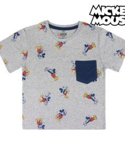 Camisola de Manga Curta Infantil Mickey Mouse 73722