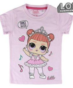 Camisola de Manga Curta Infantil Dance LOL Surprise! 74046