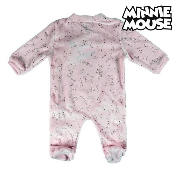 Babygrow de Manga Comprida para Bebé Minnie Mouse 74621 Cor de rosa