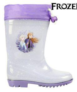 Botins Infantis Frozen 74081 Lilás Prateado