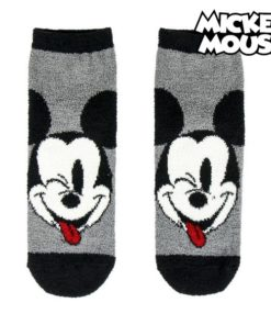 Meias Antiderrapantes Mickey Mouse 74474 Cinzento