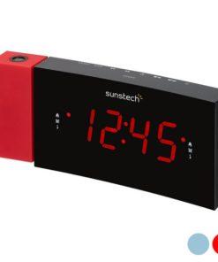 """Rádio Despertador Sunstech FRDP3 1,2"""" LED FM"""