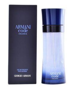 Perfume Homem Code Colonia Armani EDT (200 ml)