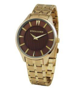 Relógio masculino Devota & Lomba DL012M-02BROWN (40 mm)