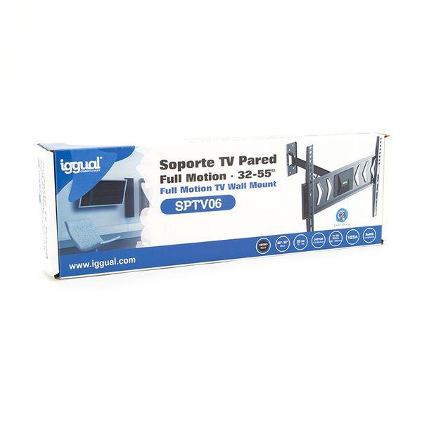 "Suporte TV iggual SPTV06 IGG314623 32""-55"" Preto"