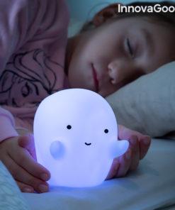 Lâmpada Fantasma LED Colorida Glowy InnovaGoods