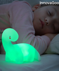 Lâmpada de Dinossauro LED Colorida Lightosaurus InnovaGoods