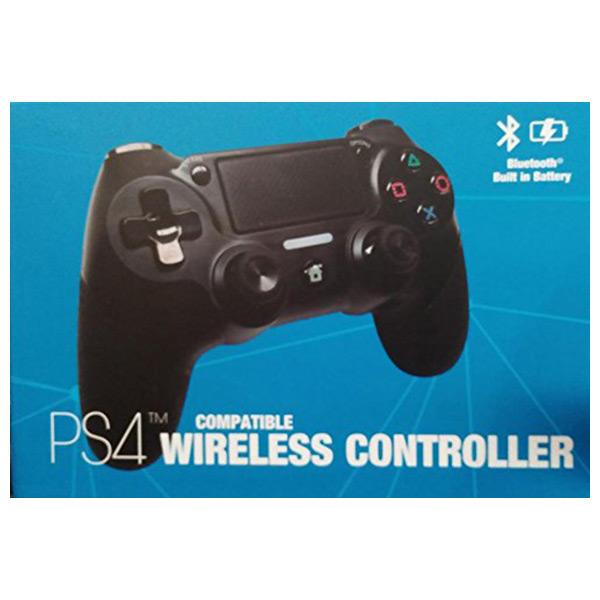 Controlo remoto sem fios para videojogos Ps4 Kaos 70003 Bluetooth Preto
