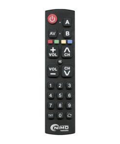 Controlo remoto universal NIMO MAN2056 Preto