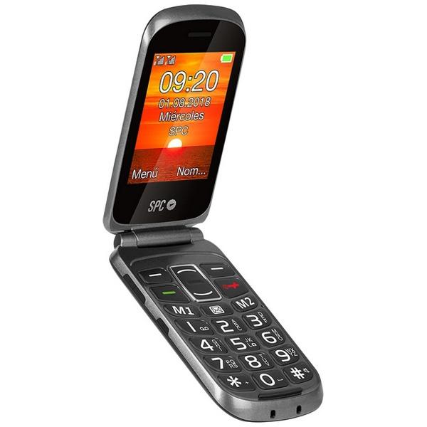 "Telefone Móvel para Idosos SPC Goliath 2,8"" Bluetooth FM 800 mAh"