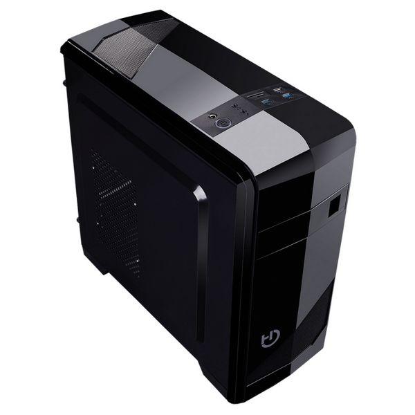 Caixa Semitorre Micro ATX Hiditec ATX M10 USB 3.0 Preto