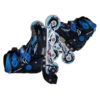 Patins em Linha Atipick Speeding Infantil Preto Azul