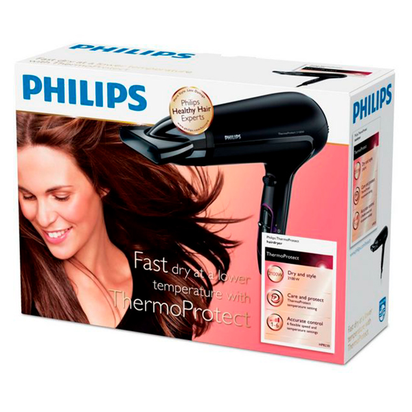 Secador de Cabelo Philips HP8230 ThermoProtect 2100W