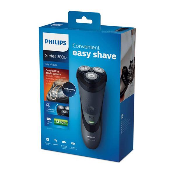 Máquina de Barbear Philips S3110/06 Series 3000 Shaver
