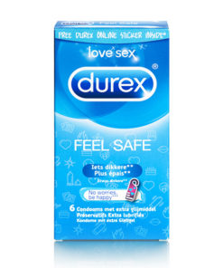 Preservativos Feel Safe Durex (6 pcs)