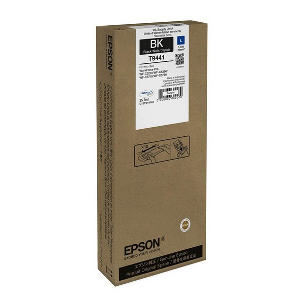 Tóner Original Epson T9441 35,7 ml 3000 pp.