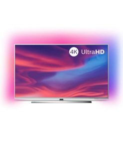 "Smart TV Philips 50PUS7354 50"" 4K Ultra HD LED WiFi Ambilight Prateado"