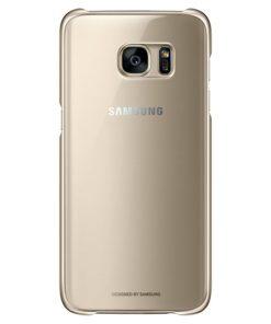 Capa para Telemóvel Samsung EF-QG935C 5.5 Dourado