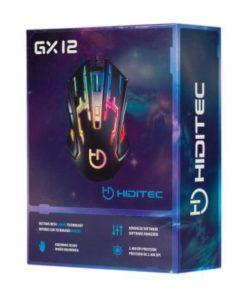 Rato Gaming Hiditec GMO010002 2400 DPI Preto