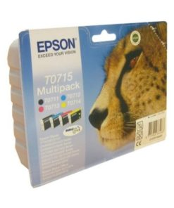 Tinteiro de Tinta Original Epson C13T07154010 Preto Amarelo Ciano Magenta