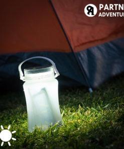 Garrafa LED Solar de Silicone Partner Adventures