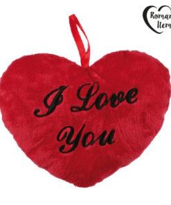 Coração de Peluche I Love you 18 cm