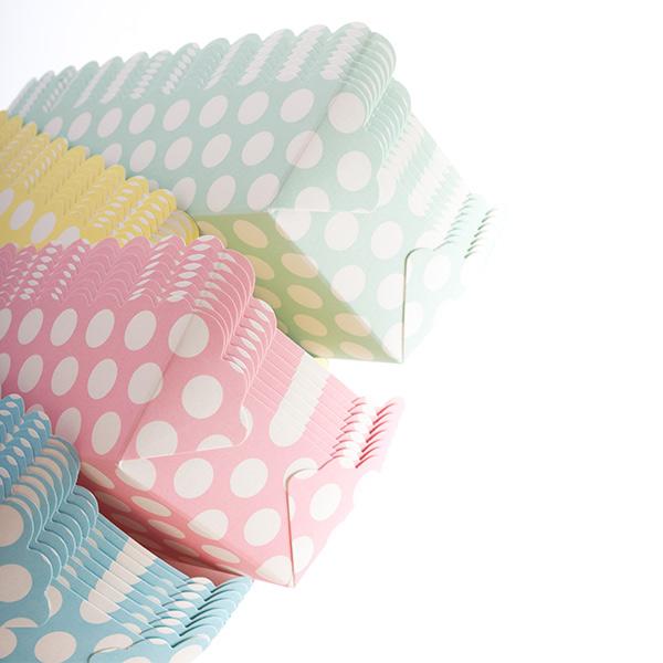 Moldes de Pastelaria Topos (pack de 8)