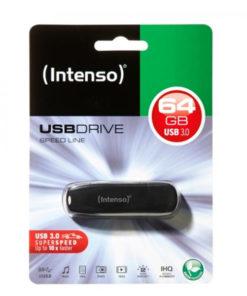 Memória USB INTENSO 3533490 USB 3.0 64 GB Preto