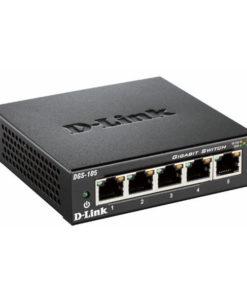 Switch D-Link DGS-105 5 p 10 / 100 / 1000 Mbps