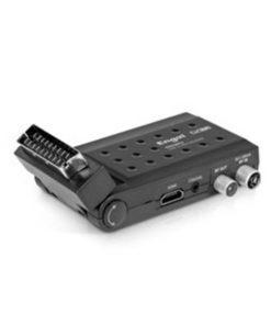 Sintonizador Tdt Engel RT6130T2 Full HD SCART Preto