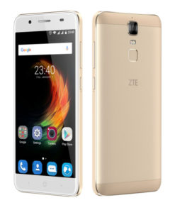 """Smartphone ZTE BLADE A610PLUS 5,5"""" FHD IPS Quad Core 33 GB 2 GB RAM GPS 4G Android 6.0 Ouro"""