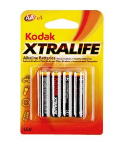 Pilha Alcalina Kodak 1,5 V 2700 mAh