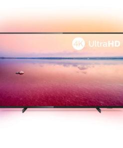 "Smart TV Philips 50PUS6704 50"" 4K Ultra HD LED WiFi Preto"