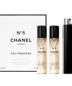 Conjunto de Perfume Mulher Nº 5 Chanel (3 pcs)