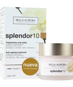 Creme Anti-idade Splendor 10 Bella Aurora Spf 20 (50 ml)